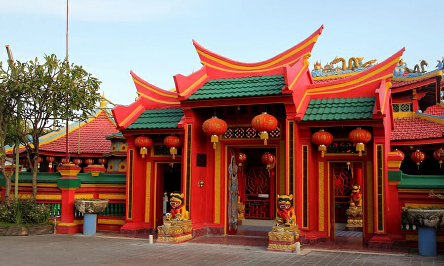 Caow Eng Bio Temple Indonesia