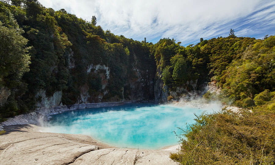 Inferno Lake Crater