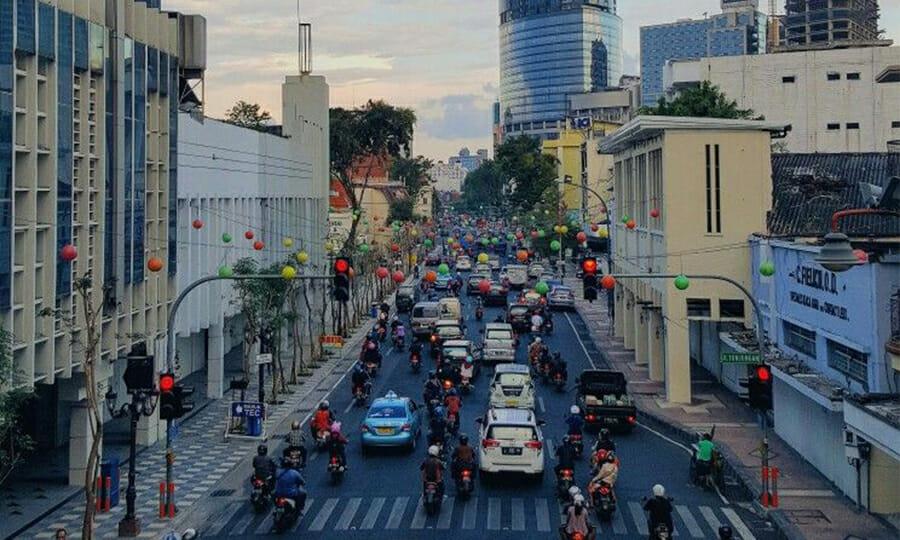 Surabaya Street Indonesia