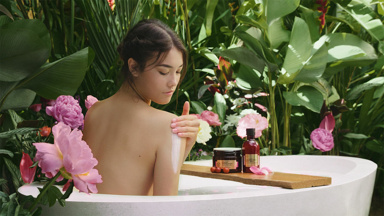 What We Did For The Body Shop + Behind The Scenes
