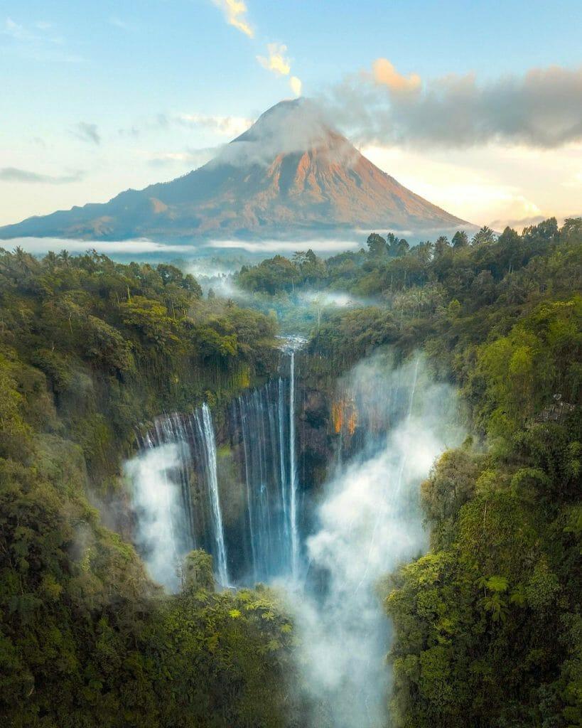 Semeru Waterfall